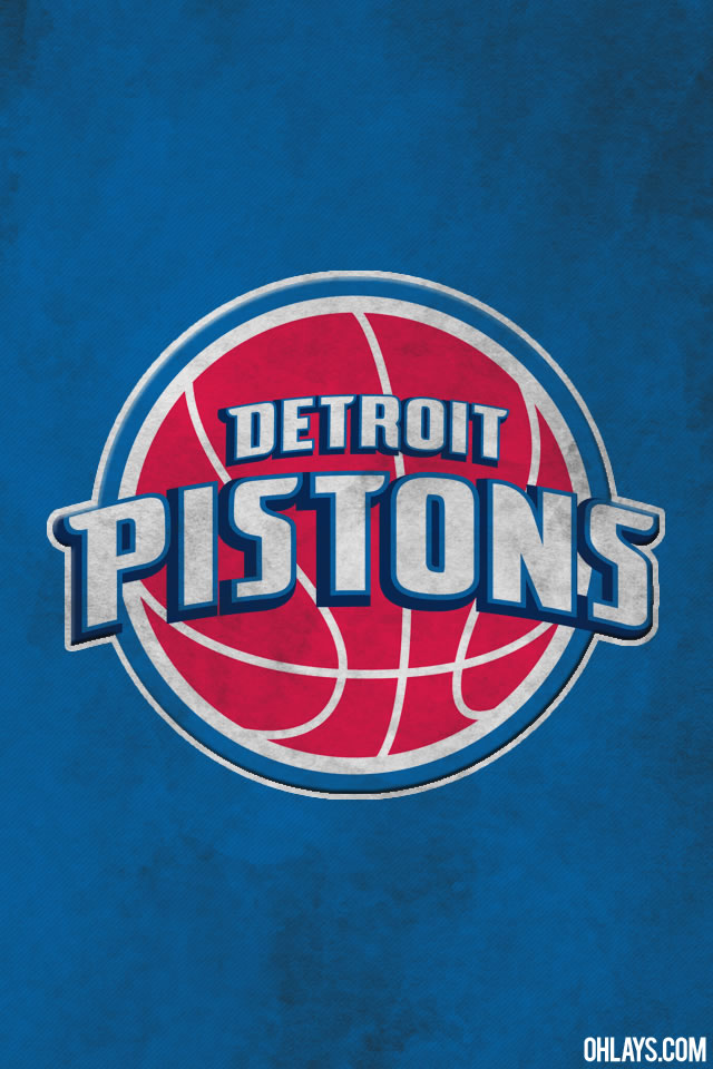 Detroit Pistons iPhone Wallpaper 640x960