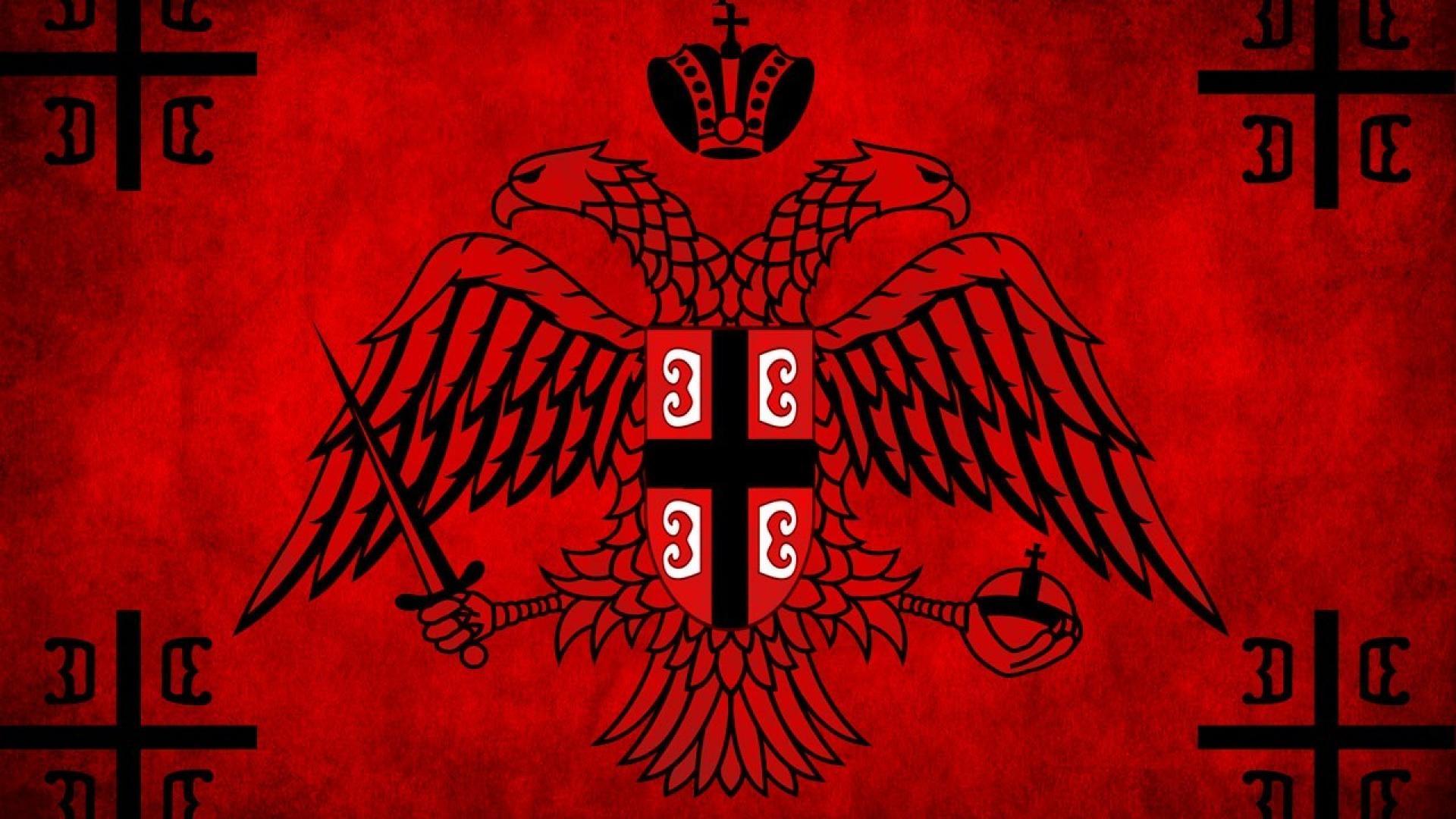 War brotherhood flags serbia ancient serbian orthodox cross wallpaper 1920x1080