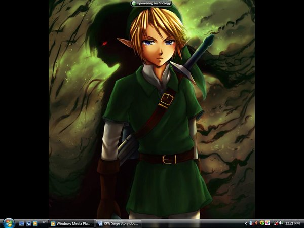 Link and Dark Link Wallpaper by LeoHightower 600x450