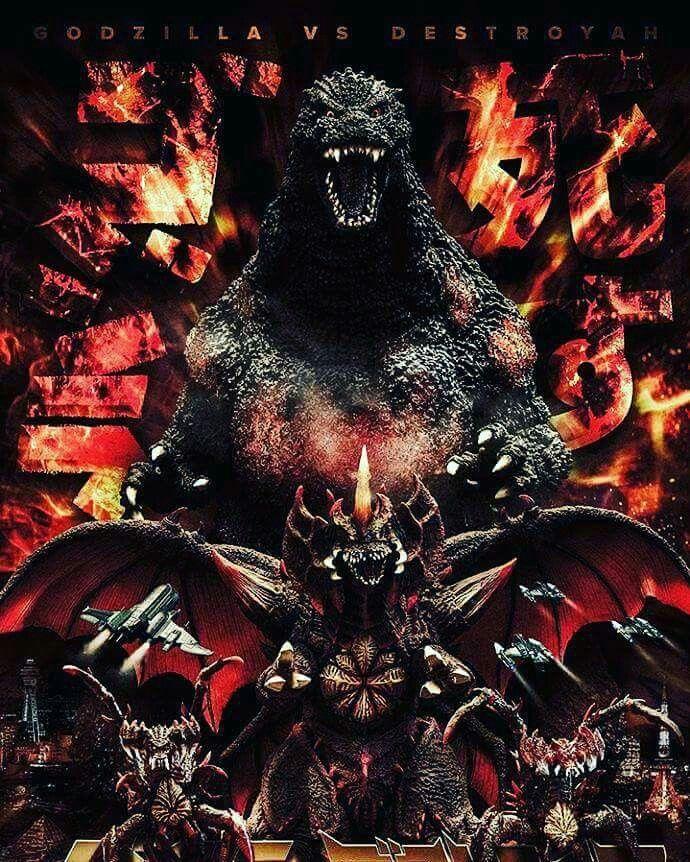 Godzilla vs Destroyah Godzilla Godzilla Godzilla vs destroyah 690x862