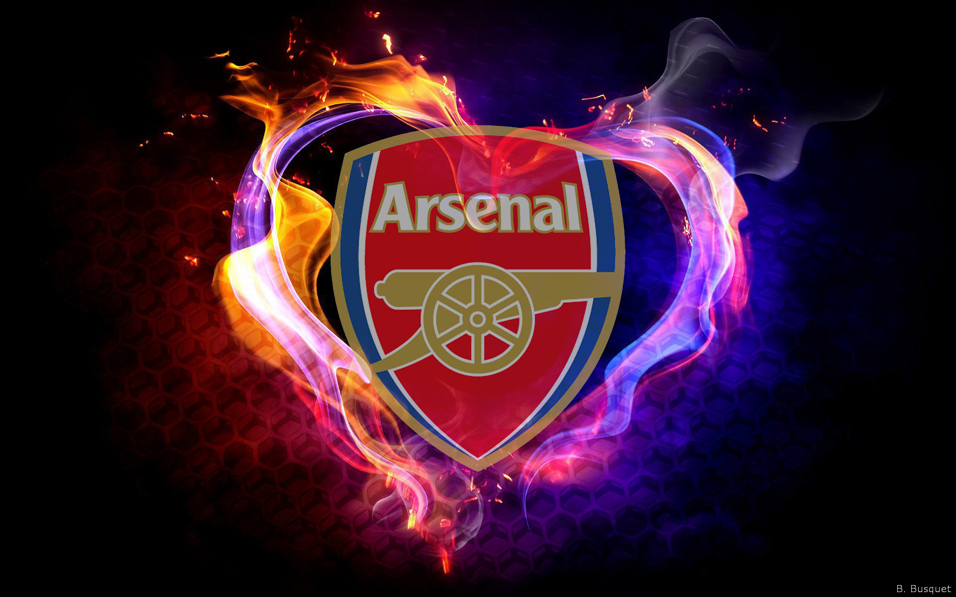 Arsenal FC Logo Wallpapers   Barbaras HD Wallpapers 1920x1200