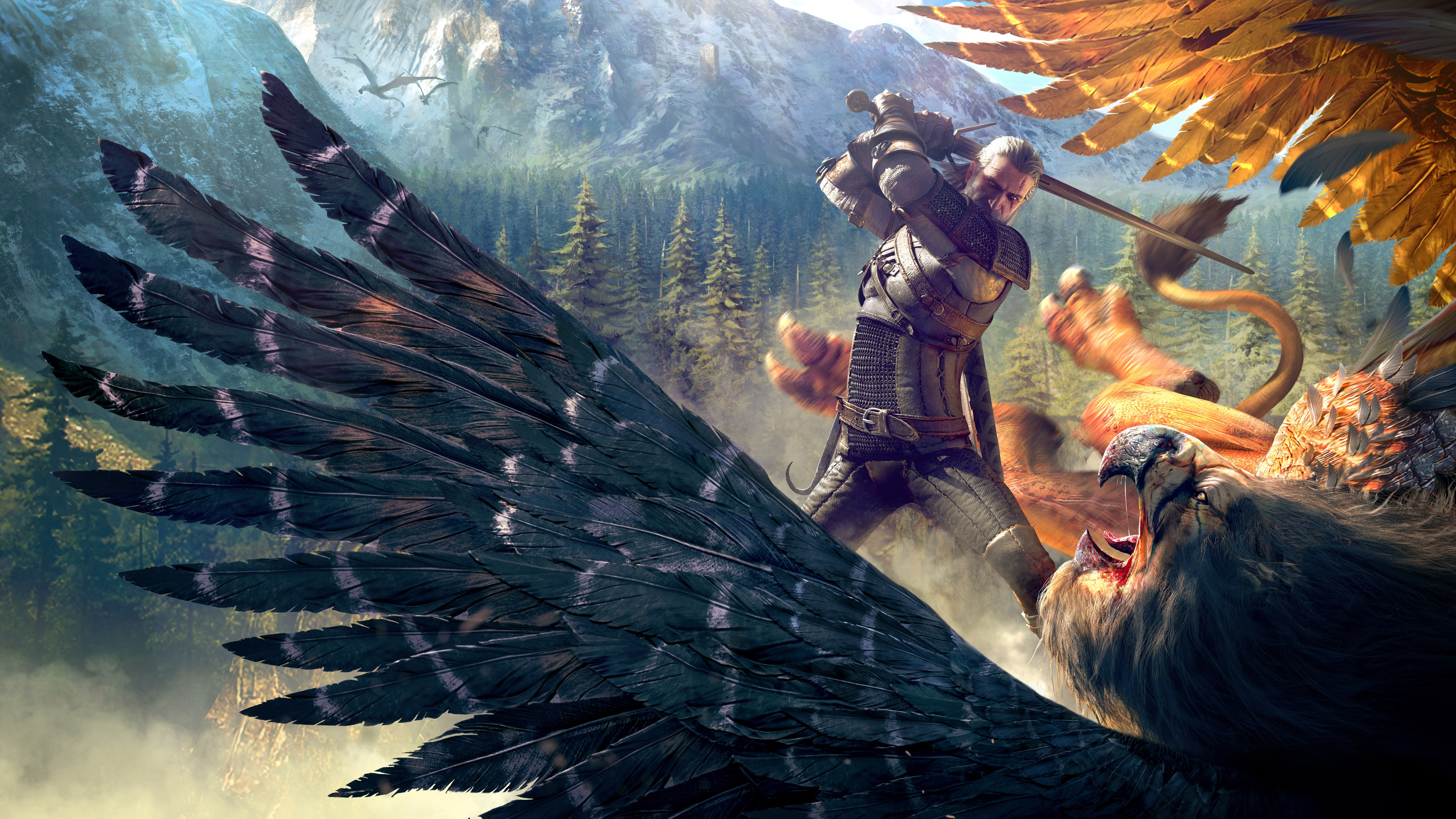 The Witcher 3 Wild Hunt Gameplay Wallpapers HD Wallpapers 3840x2160