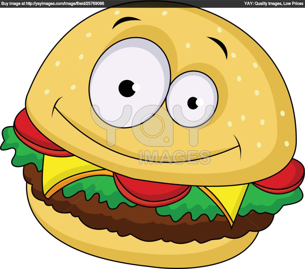 cartoon hamburger wallpaper - photo #18