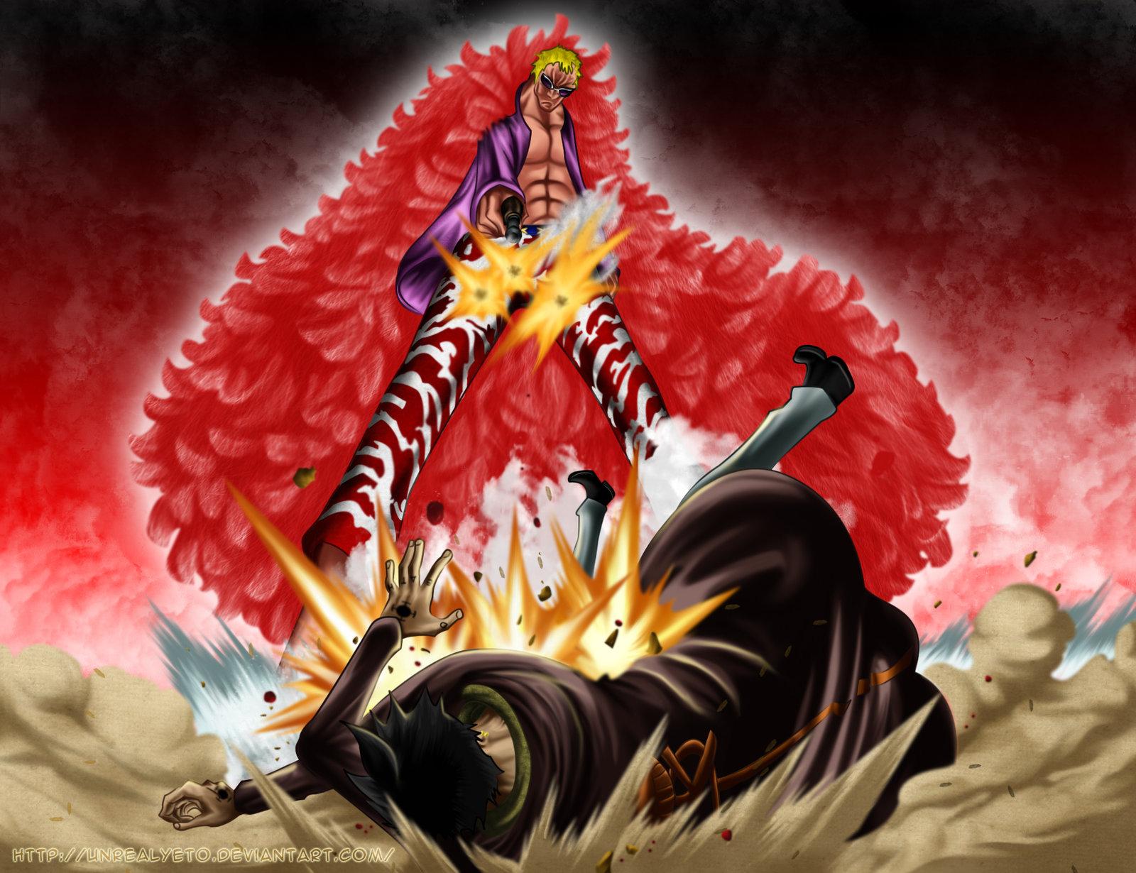 One Piece Doflamingo Wallpaper Wallpapersafari