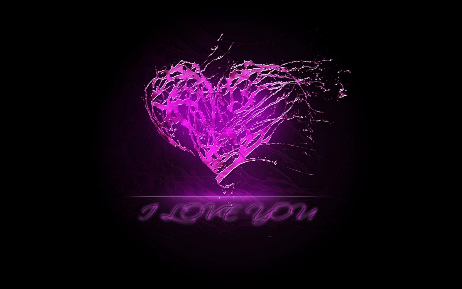 Beautiful purple heart wallpaper purple heart wallpaper purple 1600x1000