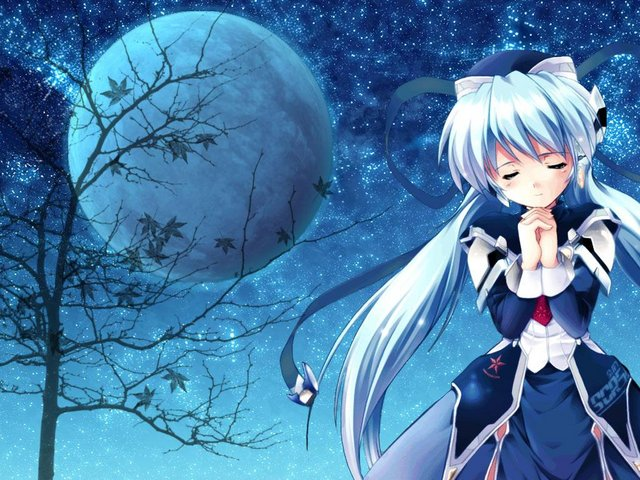 Anime Wallpaper Girl anime cute girl wallpaper 640x480