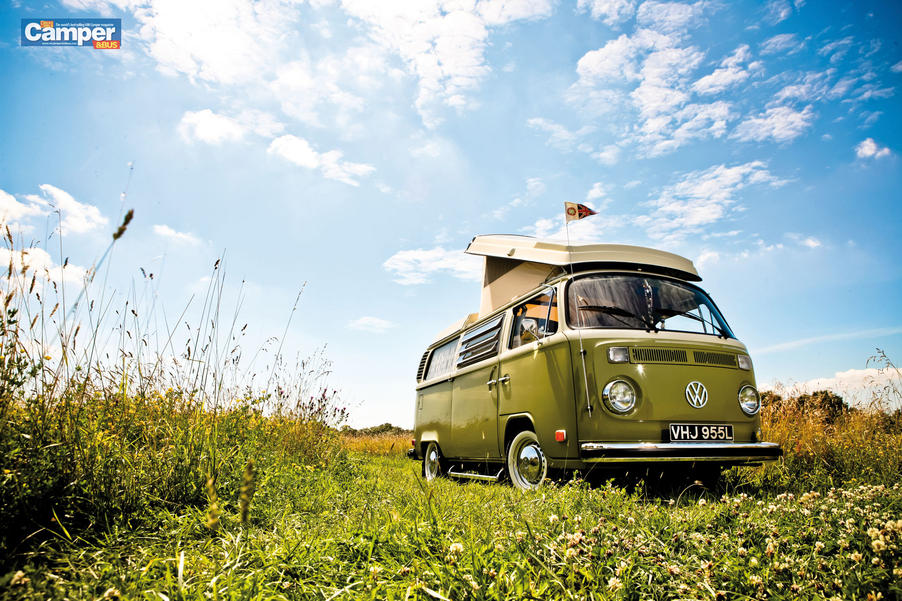 CamperBus wallpaper from the October 2012 issue   VW Camper and Bus 1800x1200