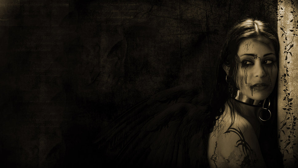 Fallen Angel wallpaper 969x545