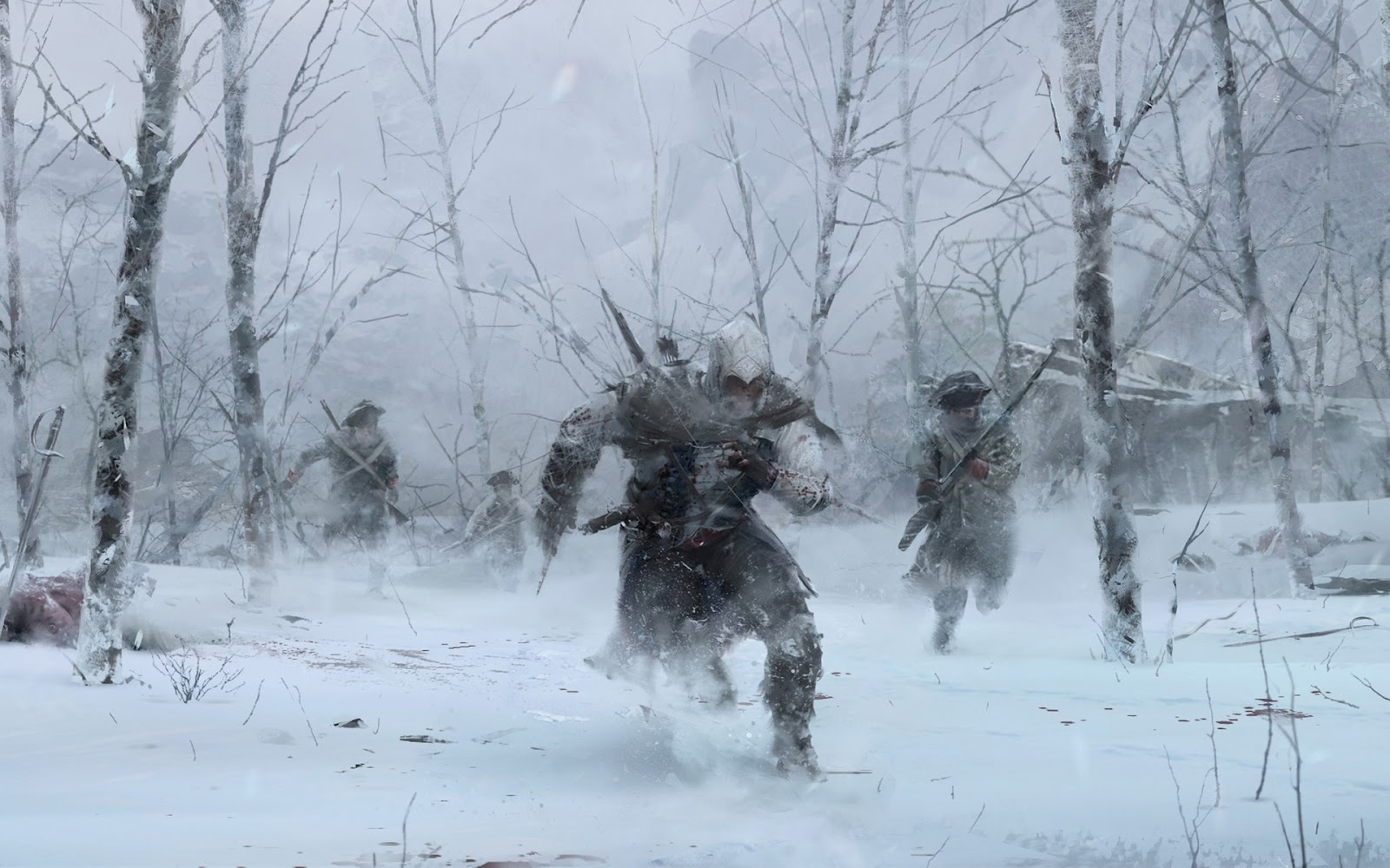 Assassins Creed III New Game HD Wallpapers 1600x1000