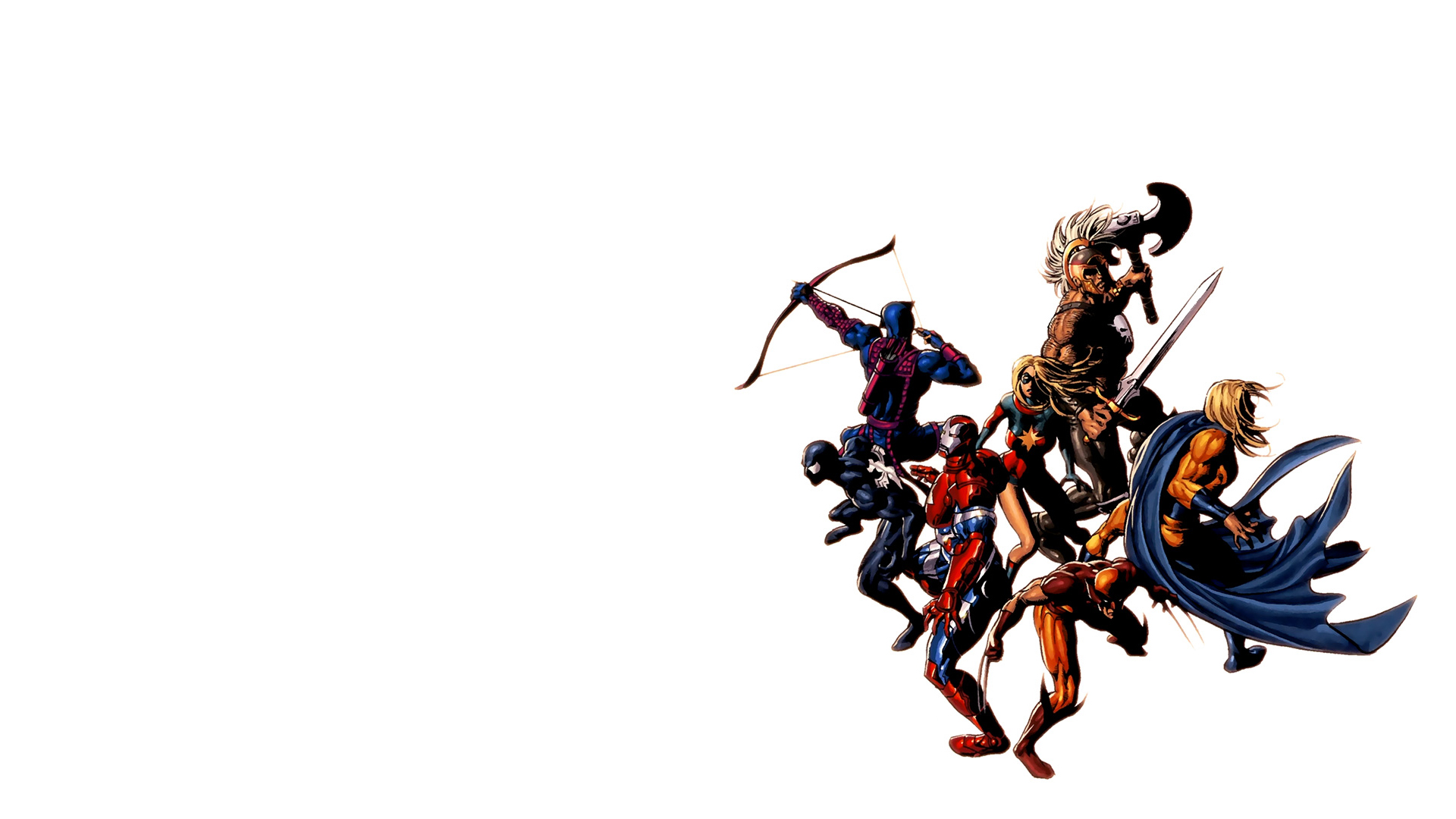 Marvel Comics Wallpaper 1920x1080 Marvel Comics Dark Avengers 1920x1080