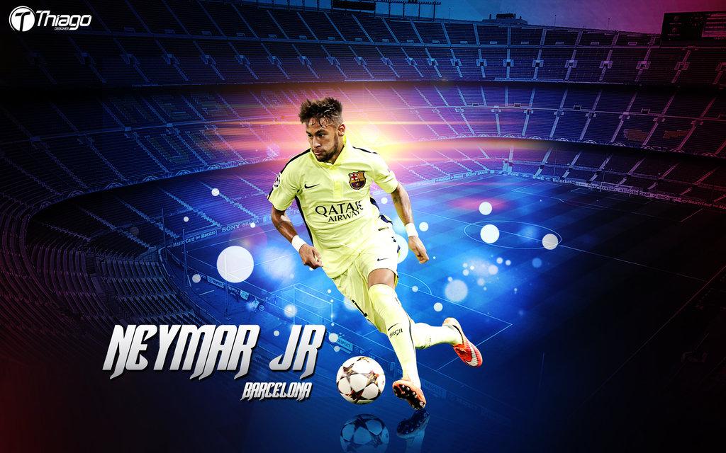 Wallpaper Neymar JR Barcelona by THIAGOJUSTINO 1024x640