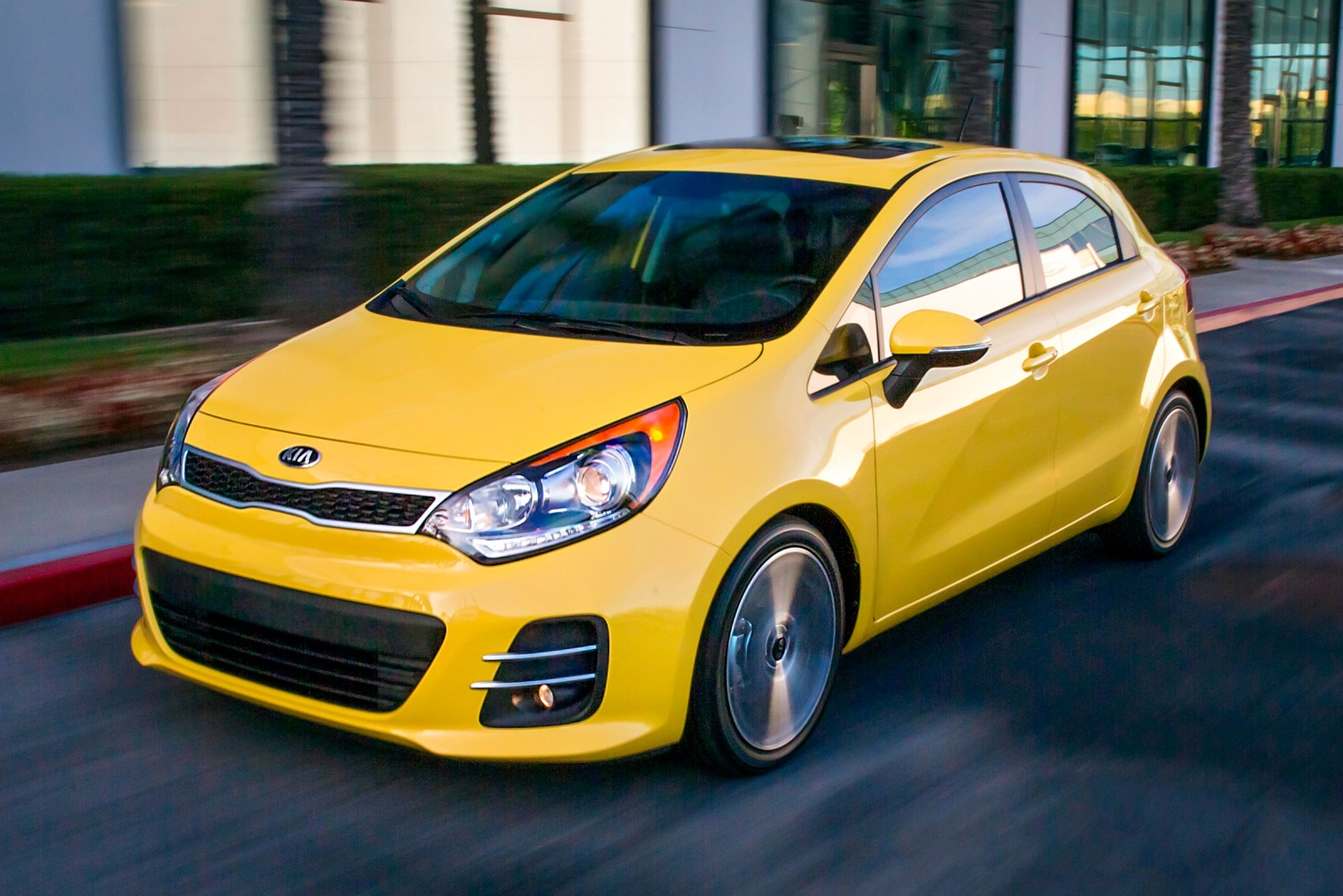 2016 Kia Rio Amazing Wallpapers 1600x1067