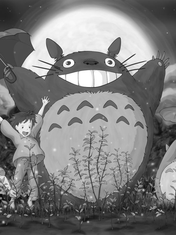 My Neighbor Totoro In The Rain For Amazon Kindle 3 Apps Directories 600x800