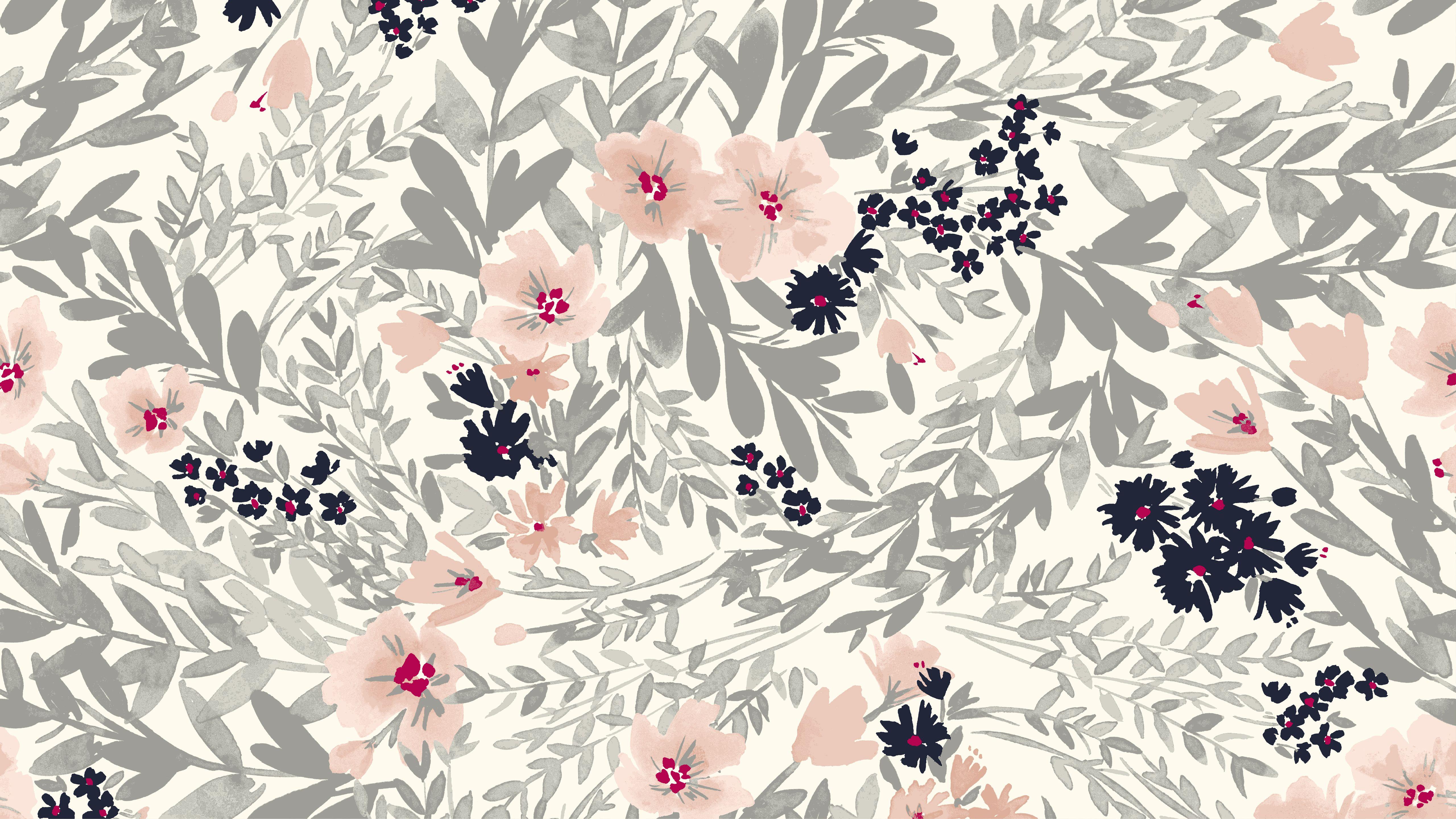 55 Floral Pattern Desktop Wallpapers   Download at WallpaperBro 5120x2880