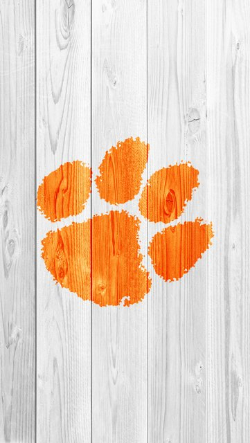 Clemson iPhone 5 iPhone Wood Wallpapers Photo album by Lunaoso 361x640