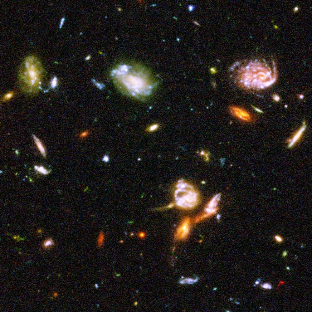Hubble Deep Space Images Space Wallpaper 1000x1000