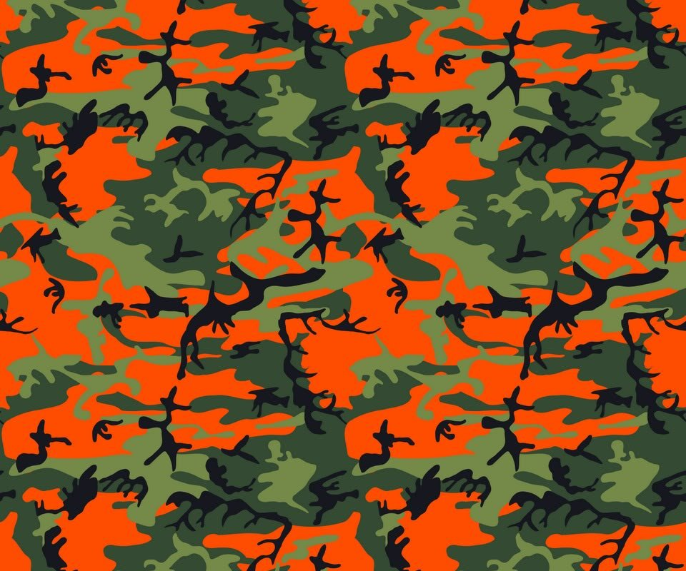 Blaze Orange Camo Background Camo and blaze   pg 6 960x800