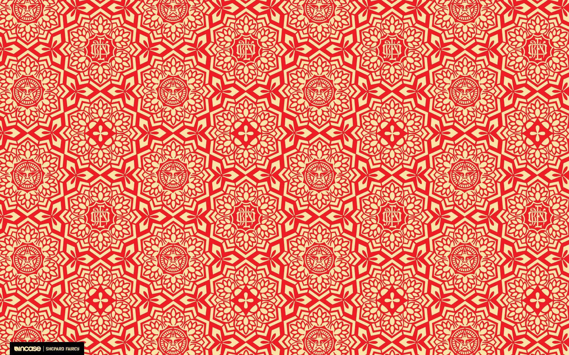 Red obey shepard fairey incase wallpaper 1920x1200 16943 1920x1200
