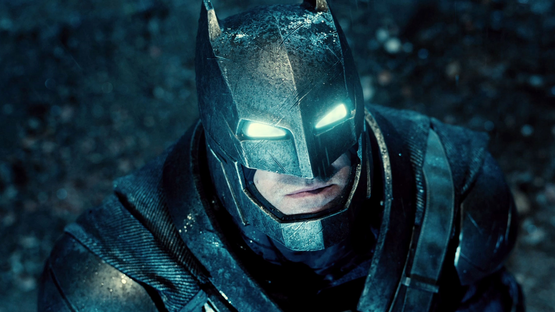 Batman Metal Armour in Batman v Superman Dawn of Justice Wallpaper 1920x1080