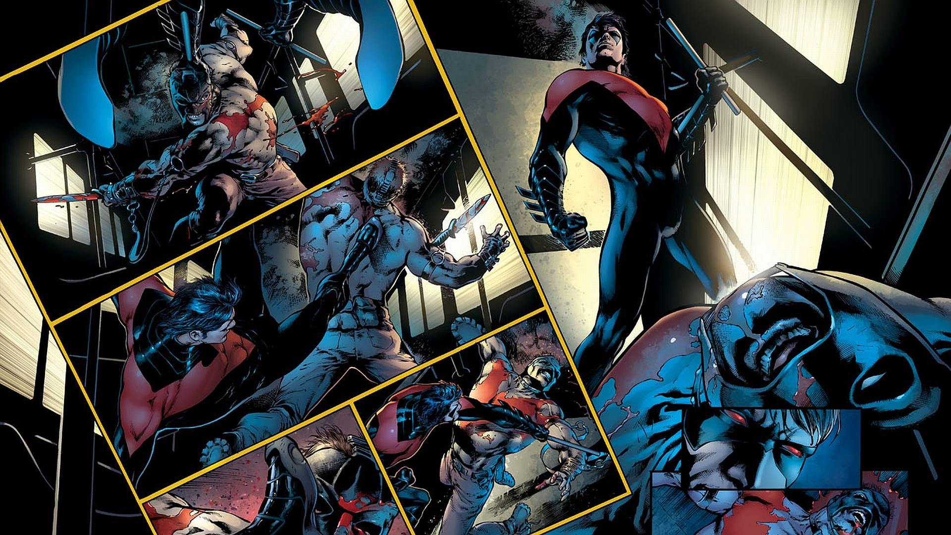 Wallpapers For Nightwing And Batman Wallpaper 1920x1080