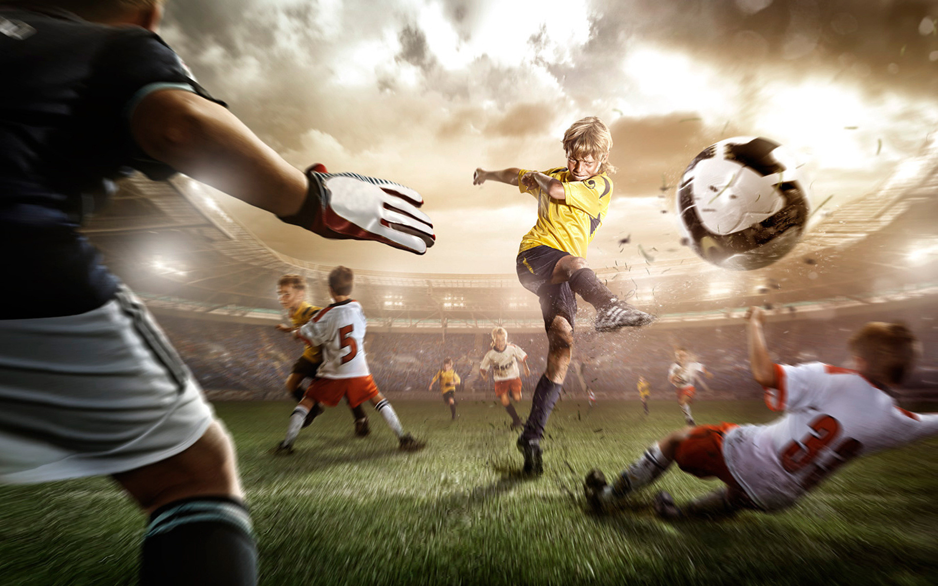 Playing Football Wallpapers HD Wallpapers 1920x1200
