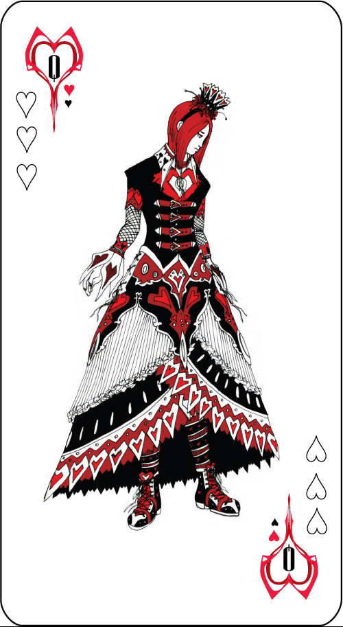 Queen of Hearts by Ex Shadow 500x913