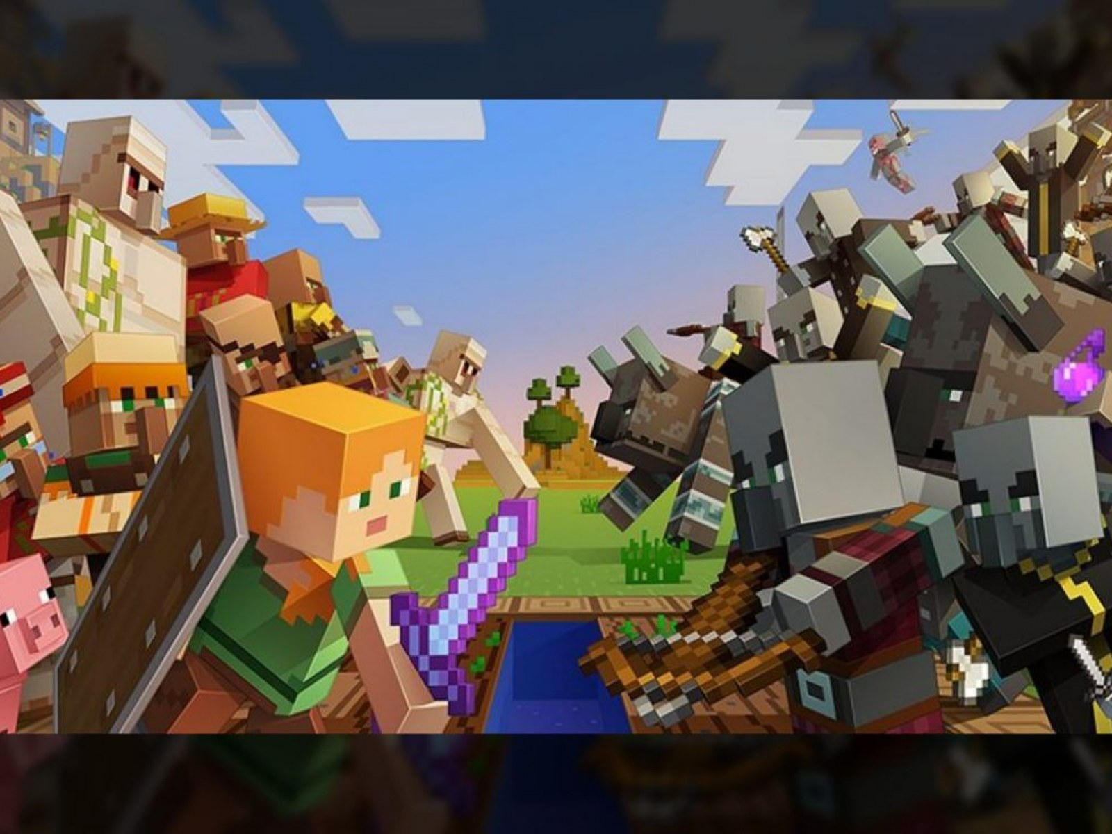 Minecraft Village and Pillage Update 114 Brings New Smithing 1600x1200