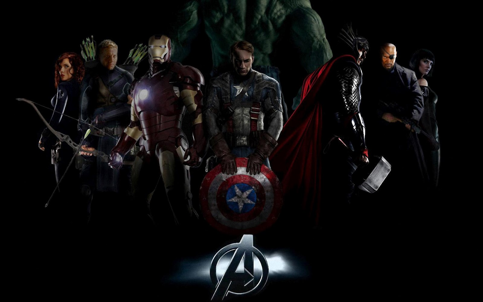 HD wallpaper The Avengers Movie Hd Wallpapers HD Pictures 2013 by 1600x1000