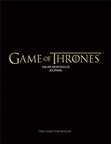 Game of Thrones Valar Morghulis Hardcover Ruled Journal 386x500