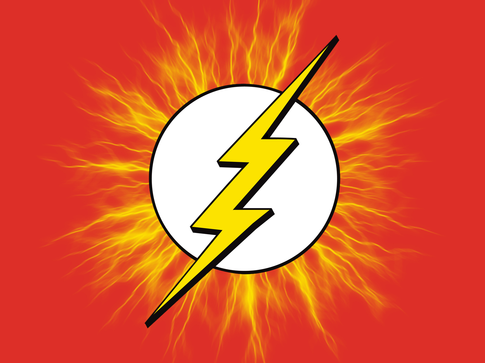 The Flash Logo Wallpaper The flash by wolverine080976 1600x1200