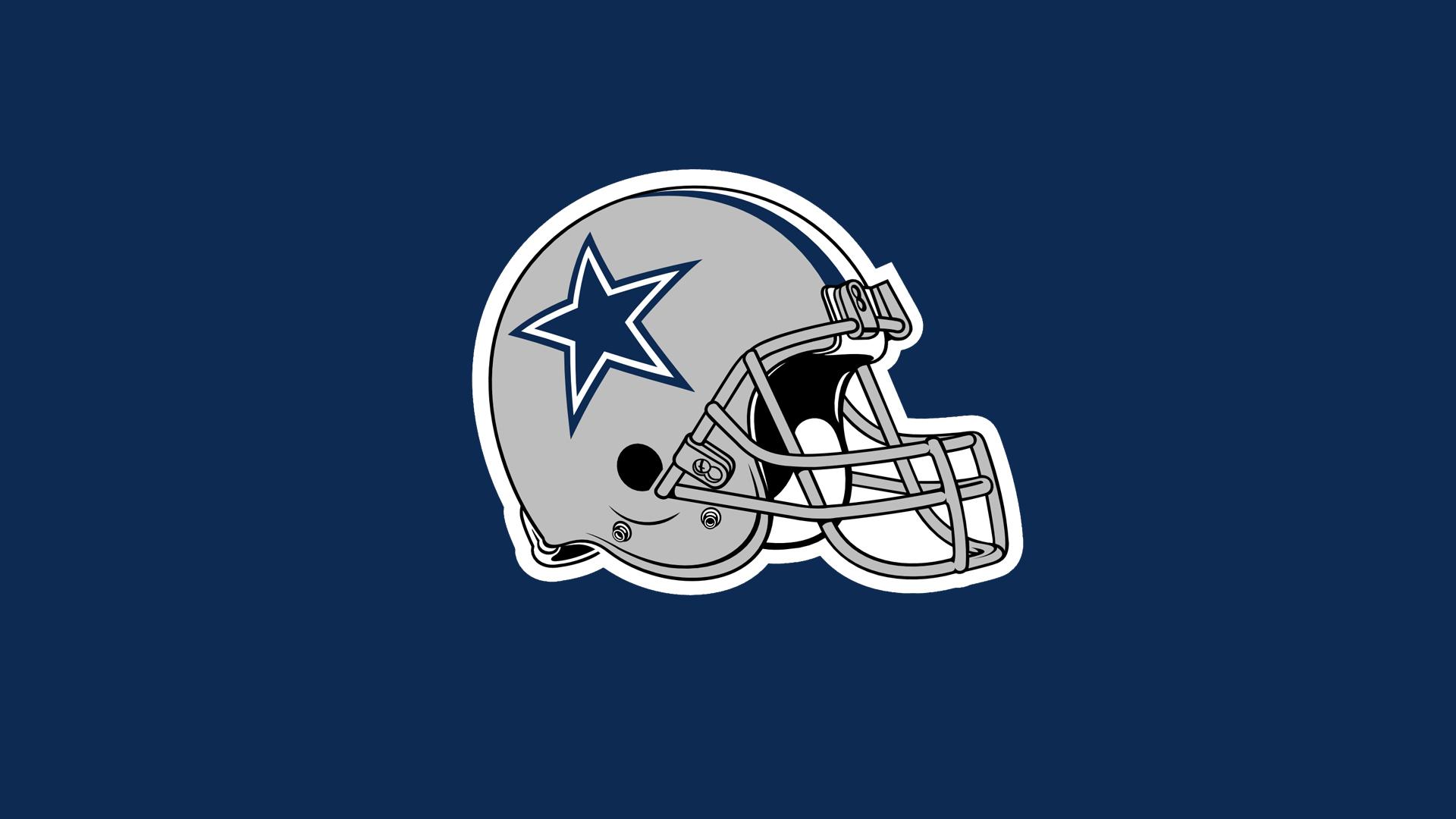 NFL Dallas Cowboys Helmet Blue Back 1920x1080 HD NFL Dallas Cowboys 1920x1080