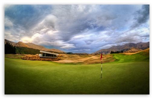 Beautiful Golf Course HD desktop wallpaper High Definition 510x330