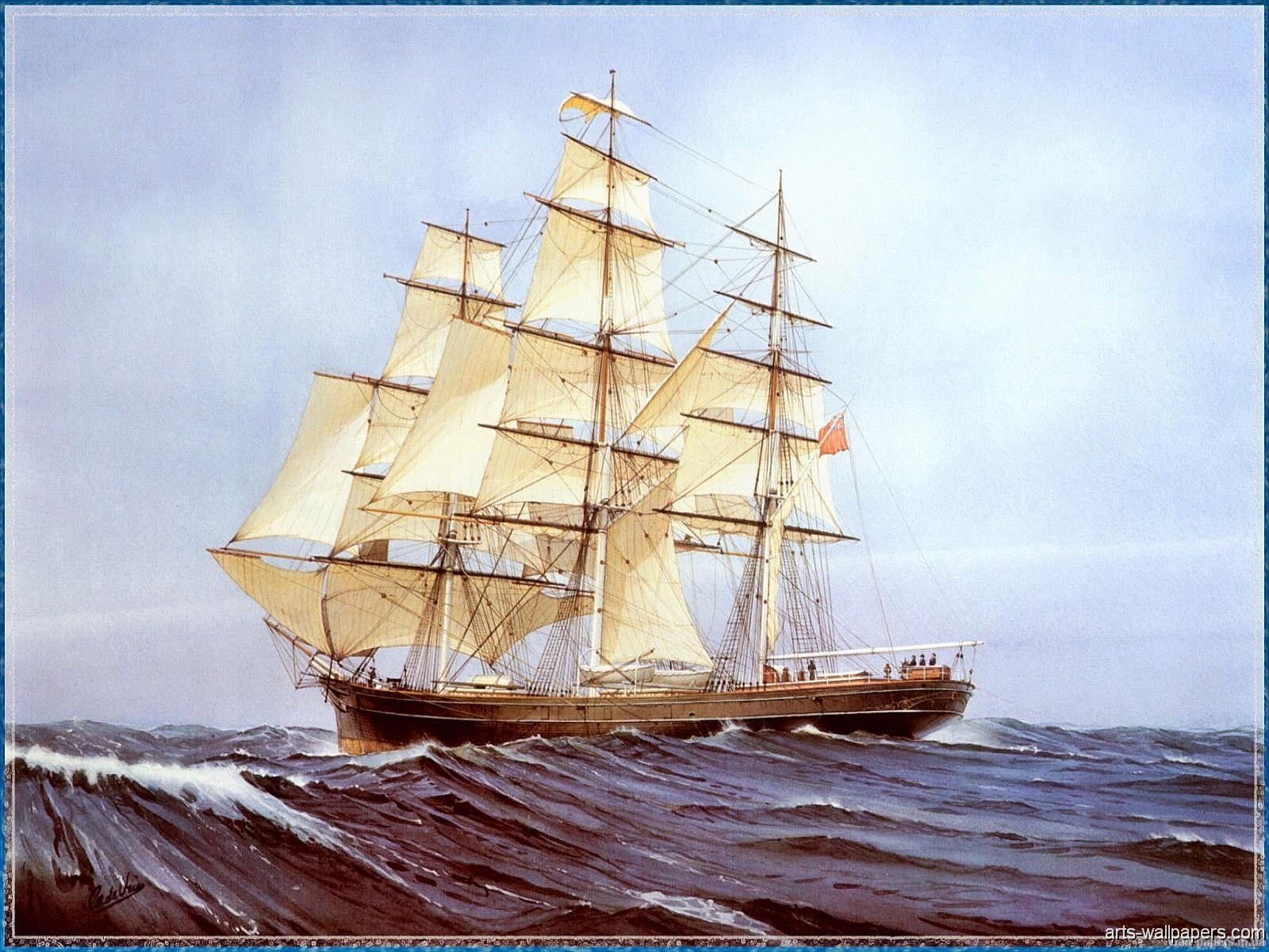 Old Sailing Ships Wallpaper - WallpaperSafari