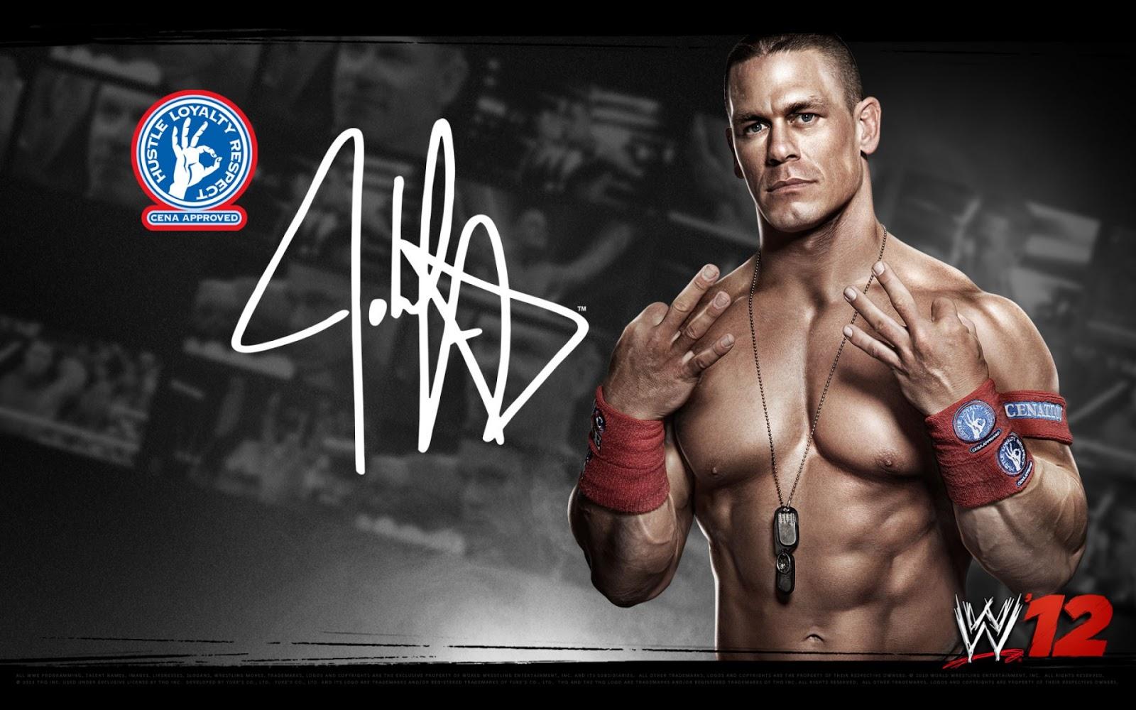 Sports Players Wwe John Cena Wallpapers HD 2012 1600x1000