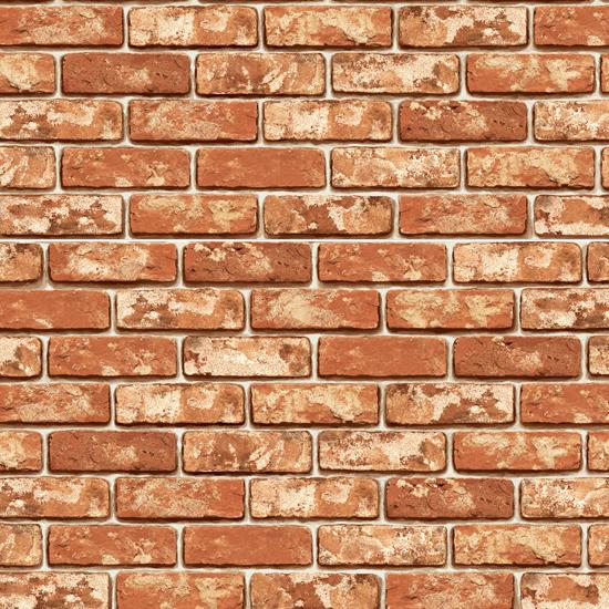 Natural Bakery Brick Prepasted Contact Wallpaper Home Depot Wallcovering Paper