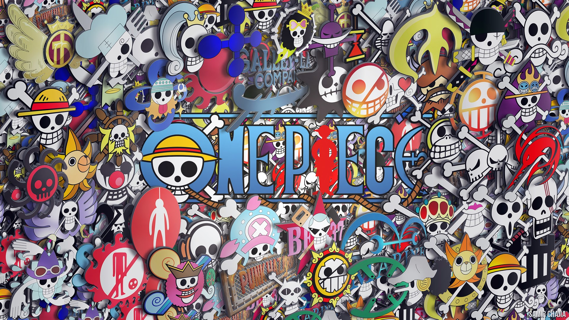 one piece pirates logo hd wallpaper one piece anime 1920x1080 a415 1920x1080