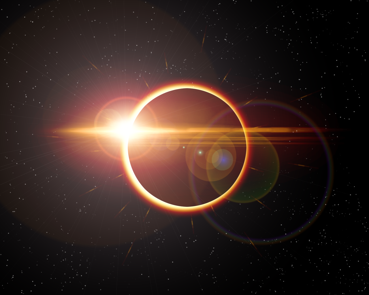 Solar Eclipse top of Earth, Sky Wallpaper, hd phone wallpapers ...
