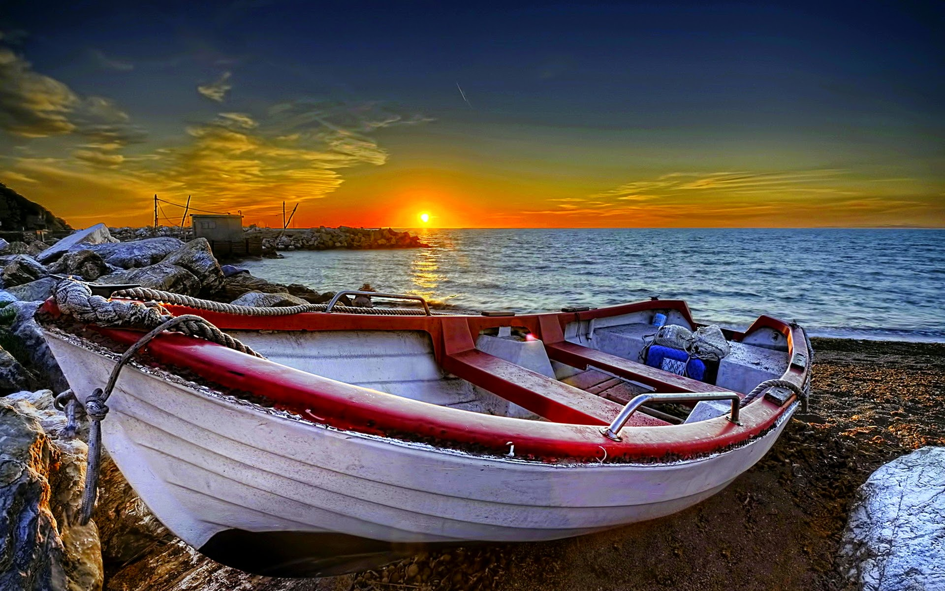 boat wallpaper HD 1920x1200