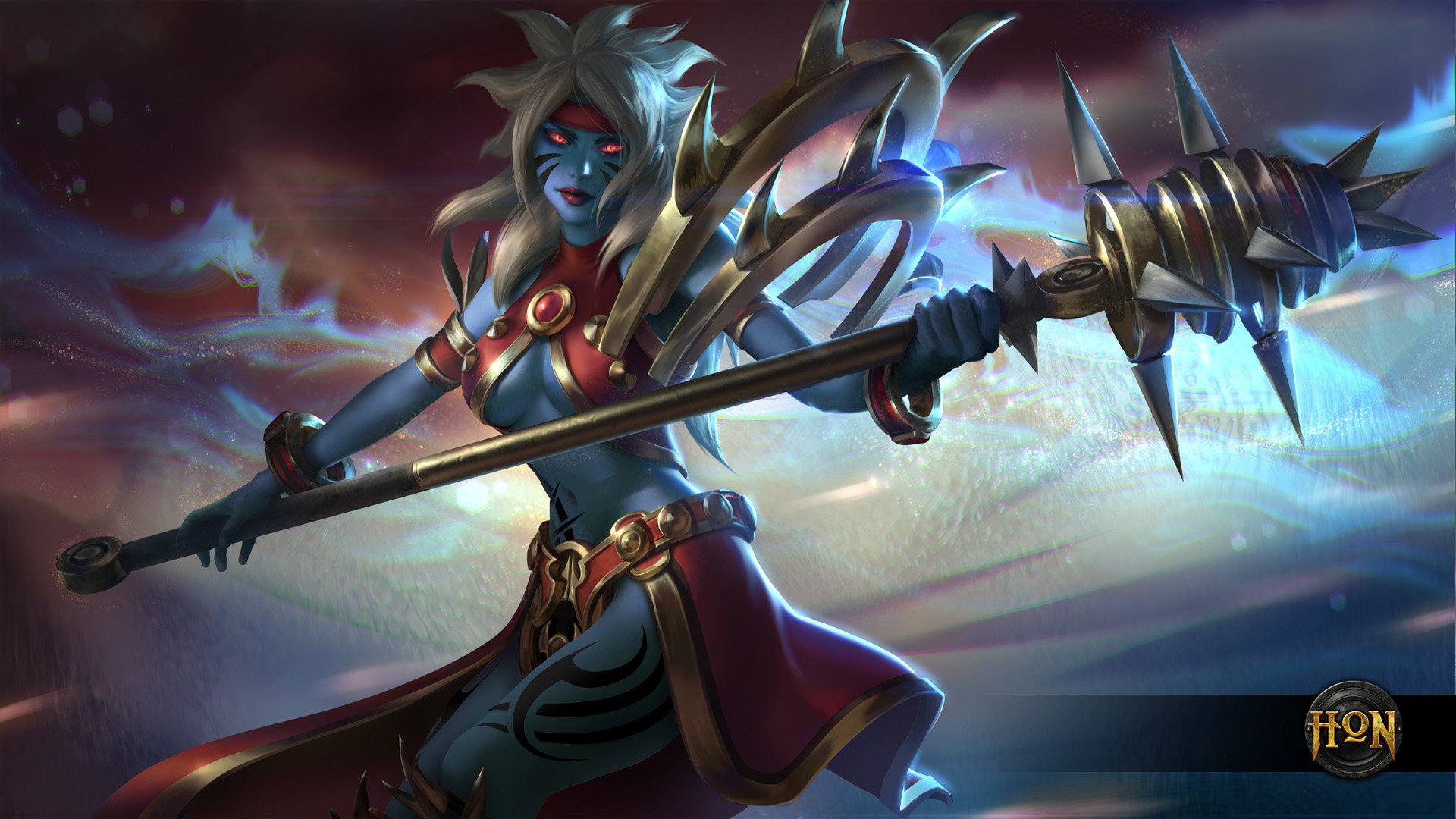 Heroes of Newerth   Savage Mace Chronos HD Wallpaper Background 1920x1080