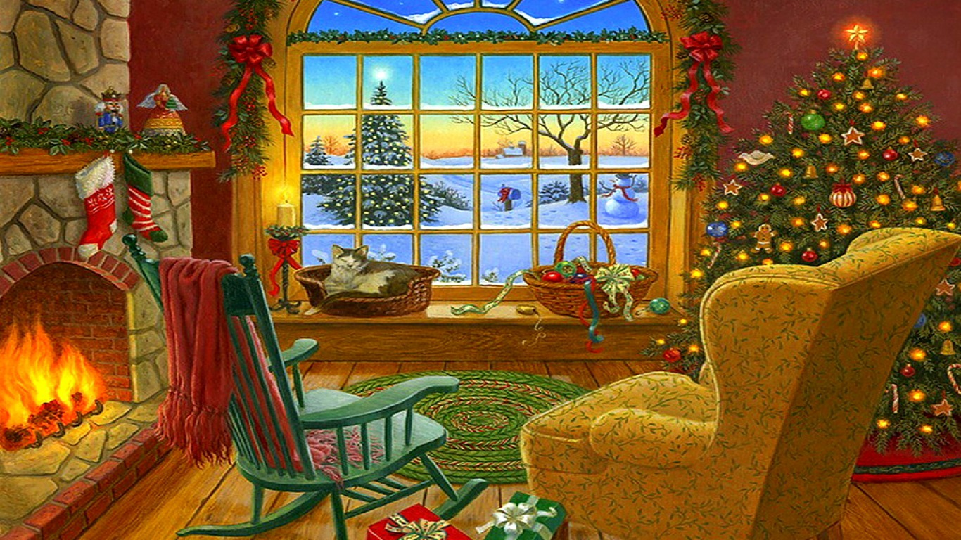 Free Download Cozy Christmas Cabin A Cozy Cabin Art 1366x768 For Your Desktop Mobile Tablet Explore 42 Cozy Christmas Wallpaper Country Cottages Wallpaper Computer English Country Cottage Wallpaper Free
