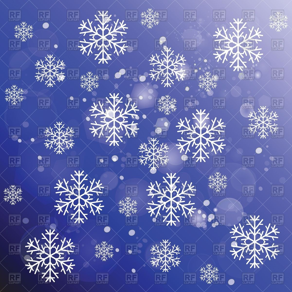 Free Download Snowflakes On Blue Winter Background Vector Image Of Backgrounds 1200x1200 For Your Desktop Mobile Tablet Explore 40 Winter Backgrounds Free Beautiful Winter Wallpaper Free