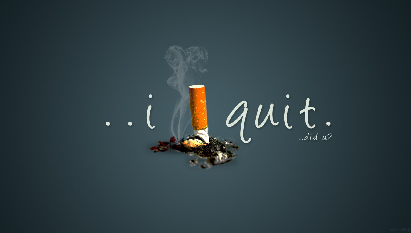 Stop Smoking Wallpaper posted by Sarah Simpson 1355x768