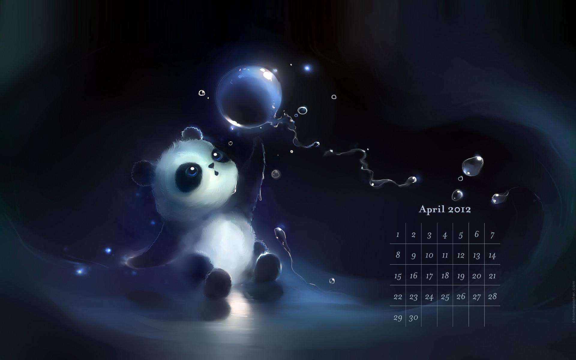 Desktop Calendar Wallpaper April 2012 Download   Webgranth 2015 1920x1200