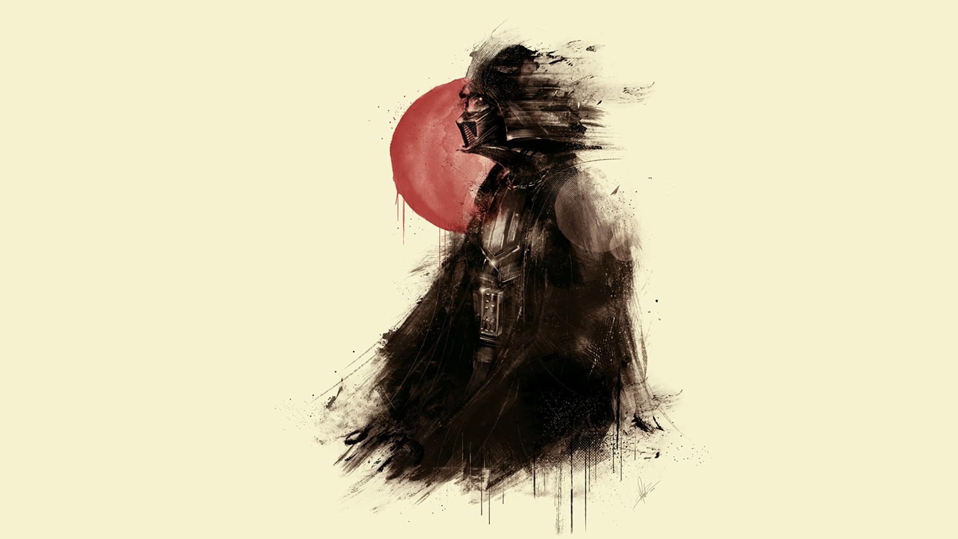 Darth Vader Fan Art Wallpaper   DigitalArtio 1920x1080