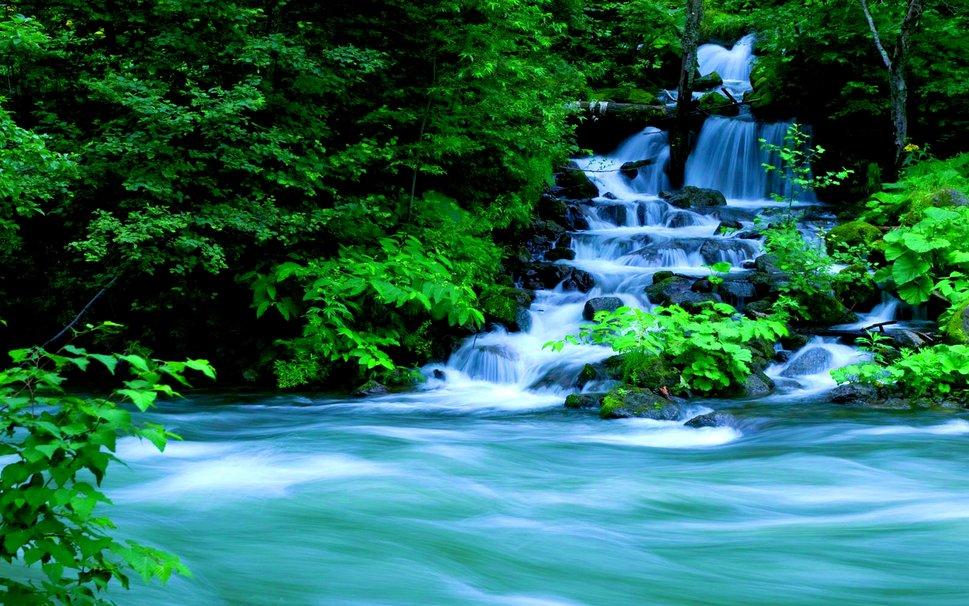 76 falls wallpaper on wallpapersafari - Waterfalls desktop wallpaper forest falls ...