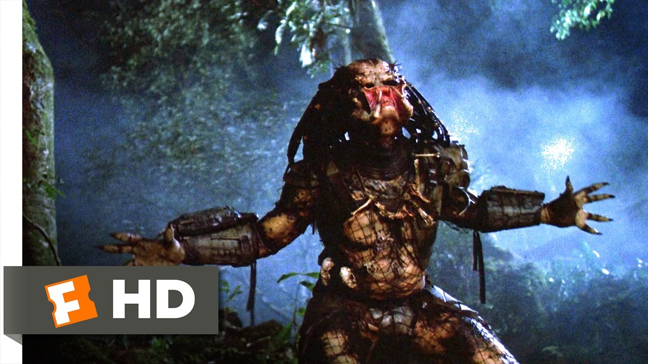 Predator 1987   One Ugly Motherfer Scene 45 Movieclips 1280x720