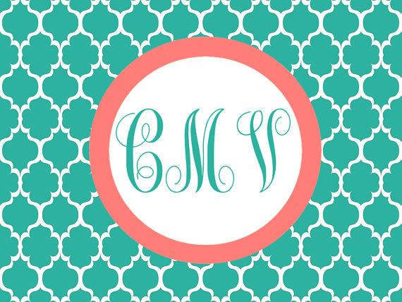 Monogrammed Computer Background Computer backgrounds Pinterest 570x428