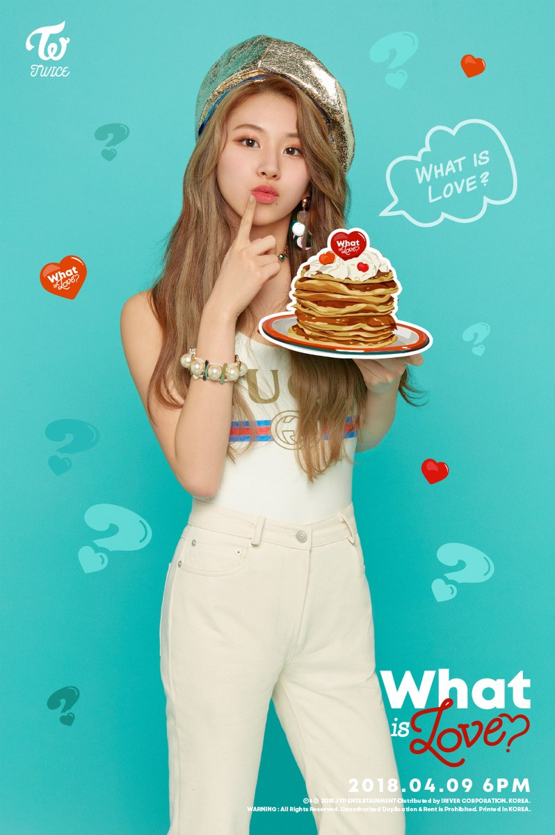 Twice JYP Ent images Chaeyoungs teaser image for What is Love 798x1199