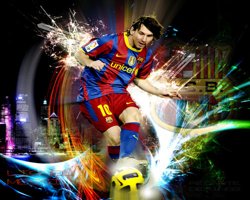 2011 Lionel Messi Wallpapers Barcelona 500x400