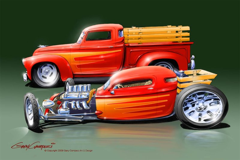 Street Rod Wallpaper And Art Wallpapersafari